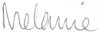 Signed Melanie