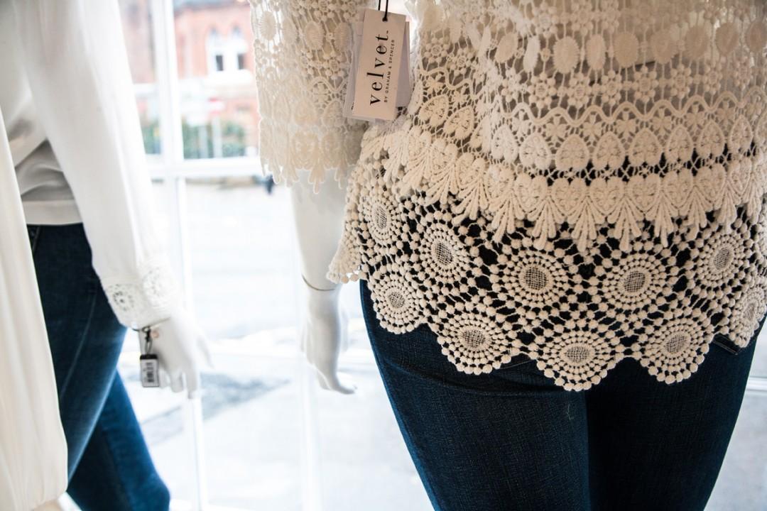 Velvet clothing